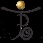 Perlboot Logo klein lila gold